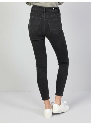 Colin's Colin'S 760 Diana Yüksek Bel Dar Paça Super Slim Fit Kadın Jean Pantolon Renkli